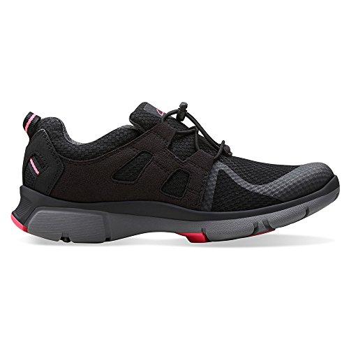 Clarks Luminate Trace-Walking-Schuhe Black