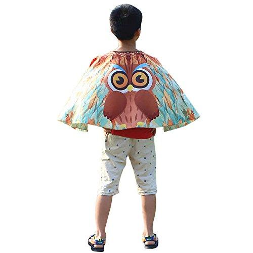 iYmitz Karneval Mode Kinds Jungen Mädchen Baby Böhmischen Schmetterling Tanzzubehör Flügels Schals Pashmina Kostüm Zubehör Faschings(Kaffee,Free Size) (Günstige Kostüm Mädchen)