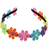 Multi Color Cute Flowers Hairband for Girls/Fancy Hairband for Girls for Girls Kids