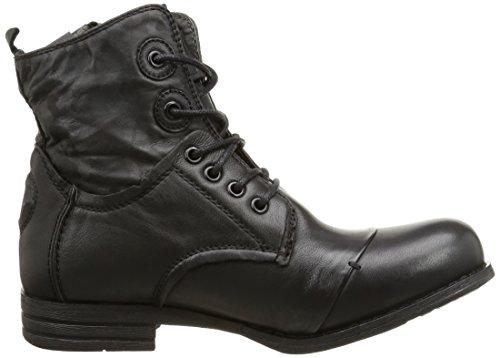 Bunker Damen Kurzschaft Stiefel Schwarz (Black)