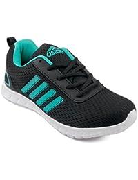 Asian shoes Butterfly-13 Black Firozi Women Sports Shoes