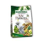 Manitoba My Parrots Unico 2 kg Alimento Completo per Pappagalli