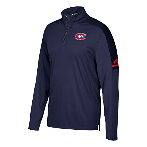 Montreal Canadiens Adidas NHL Authentic Pro 1/4 Zip Pullover Montreal Zip