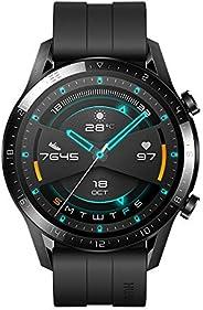 Huawei LTN-B19-BK GT 2 Smart Watch with Fluoroelastomer - Black (Pack of 1)