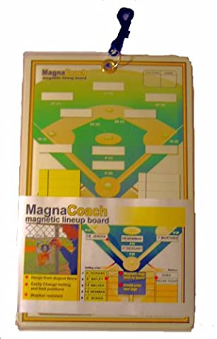 Markwort Magnacoach Baseball/Softball Magnetic Lineup Board