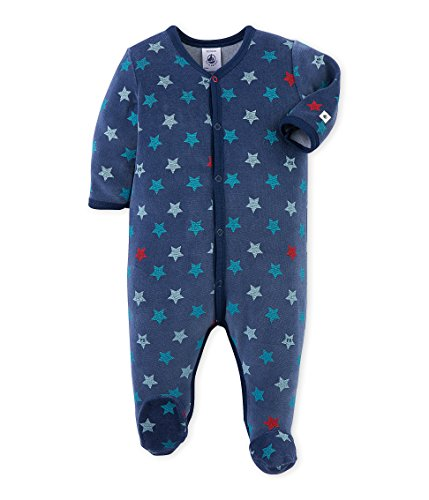 PETIT-BATEAU-Debutant-Pijama-De-Una-Pieza-Para-Bebs