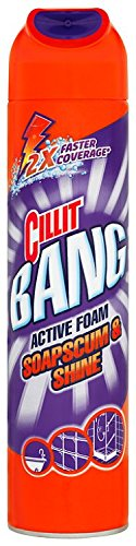 Cillit Bang Active Foam Soapscum and Shower 600 ml - Pack of 3