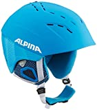 Alpina Erwachsene Skihelm Spice, Blue White Matt, 52-56 cm, 9067180