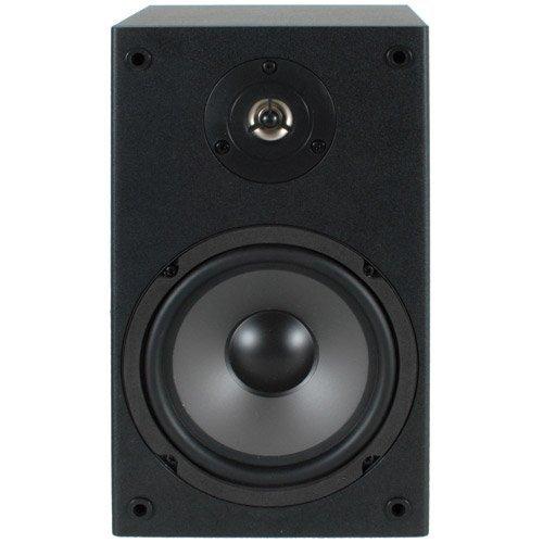 'Dayton Audio B65240W schwarz Lautsprecher-Lautsprecher (Universal, XLR, Oberseite Tisch-/Bücherregal, 1,59cm (0.625