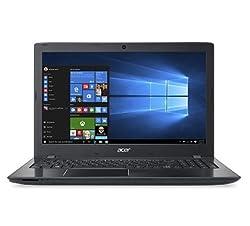 Acer Aspire E5-575-3203 Notebook (NX.GE6SI.021) Core i3 6th Gen - 6006U/4 GB /1 TB HDD /15.6 inch Led Display /DVD-RW/ Linux/ Obsidian Black