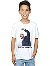 Justin Bieber Boys Shaded Pose T-Shirt