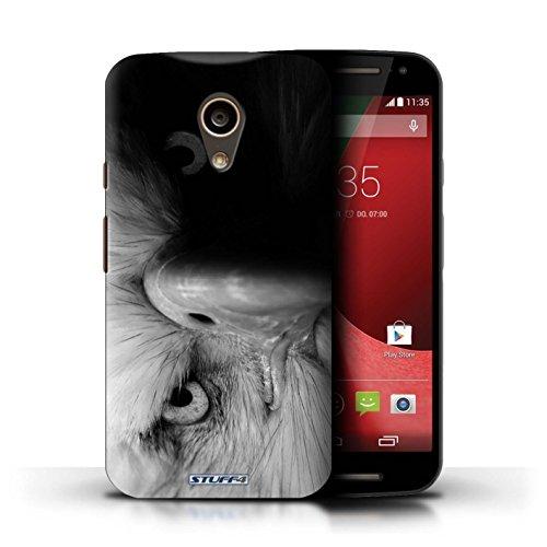 iCHOOSE Print Motif Coque de protection Case / Plastique manchon de telephone Coque pour iPhone 6+/Plus 5.5 / Collection Animaux de zoo / Loup Aigle / Oiseau