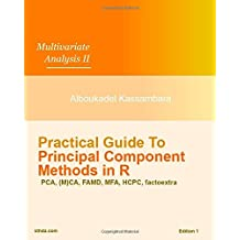 Practical Guide To Principal Component Methods in R