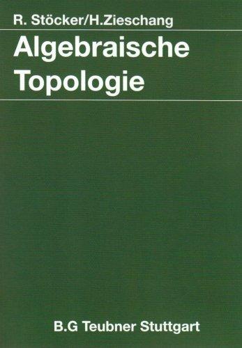 Algebraische Topologie: Eine Einführung