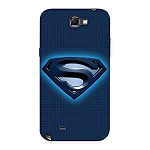 Delighted Blue Day Back Case Cover for Galaxy Note 2