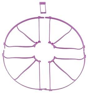 Kyosho- Protección de Helice, K.DR004PUR, Violeta