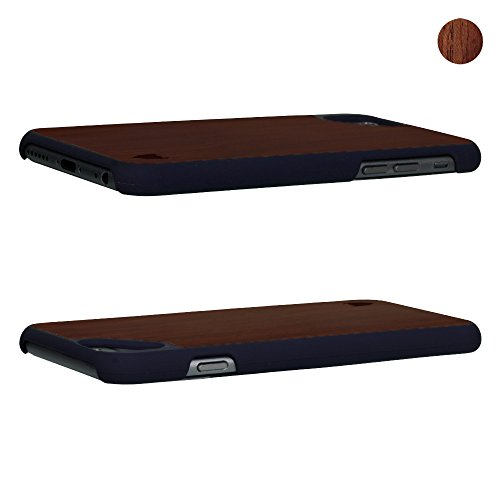Apple iPhone SE / 5S / 5 Hülle aus Holz (Schwarze Walnuss) - MediaDevil Artisancase Palisanderholz