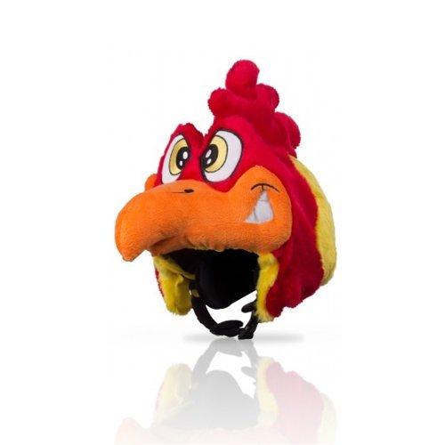 Hoxyheads Rooster Skihelm-Überzug -Gelb