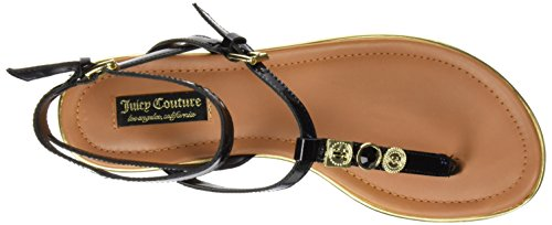 Juicy Couture Marianna - Sandali Donna Nero (Pitch Black Patent)