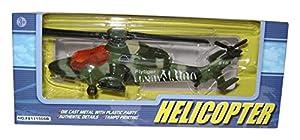 Richmond Toys 111077 - Helicóptero con Forma de flytiger, Color Verde