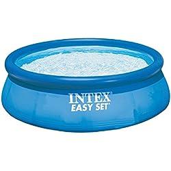 Intex Easy Set - Piscina hinchable, 366 x 91 cm, 5,621 l