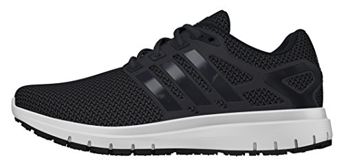 adidas Energy Cloud, Scarpe Sportive Indoor Uomo, Nero (Core Black/Utility Black/Ftwr White), 42