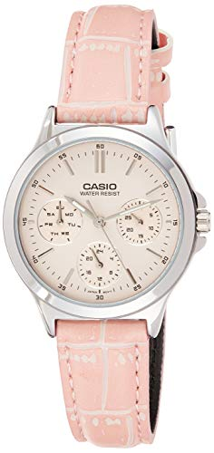 Casio Enticer Lady's Analog Red Dial Women's Watch - A1150 (LTP-V300L-4AUDF)
