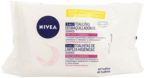 Nivea Toallitas Desmaquillantes Salviettine Struccanti - 60 ml