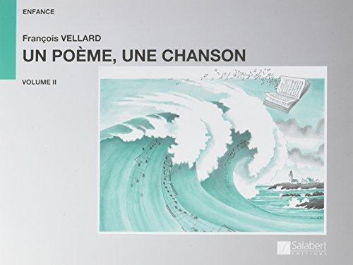 Un poème une chanson Vol.2 --- Chant/Piano