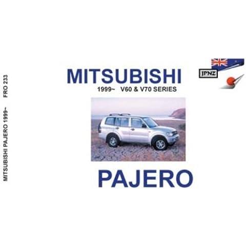 Mitsubishi Pajero 99 - Owners Handbook