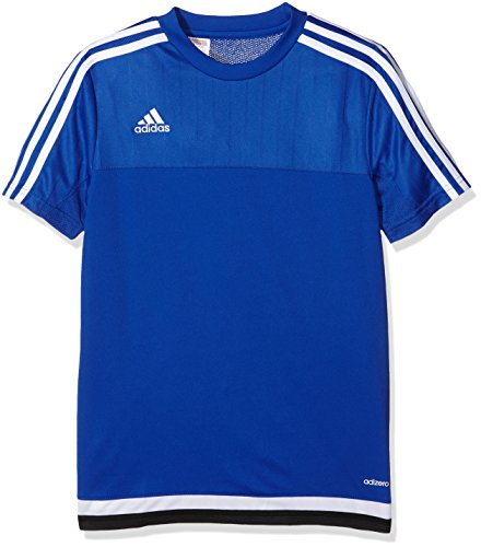adidas Kinder Trikot/Teamtrikot Tiro15 training js y Bold Blue/White/Black