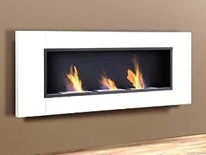 bio ethanol kamin inox germany 3 burner weiss glass scheibe bio kamin k che. Black Bedroom Furniture Sets. Home Design Ideas