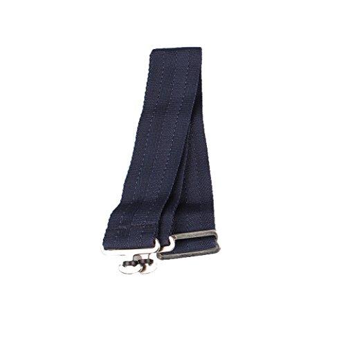 QHP Deckengurt, Verstellbar, Zum Ersetzen verlorengegangener Gurte (Blau)