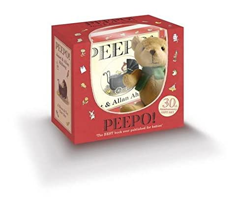 Peepo Book and Toy Gift Set (30th Anniversary Edition)