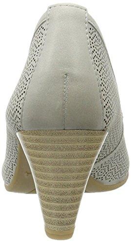 Caprice 22501, Escarpins Femme Gris (Grey Nubuc)