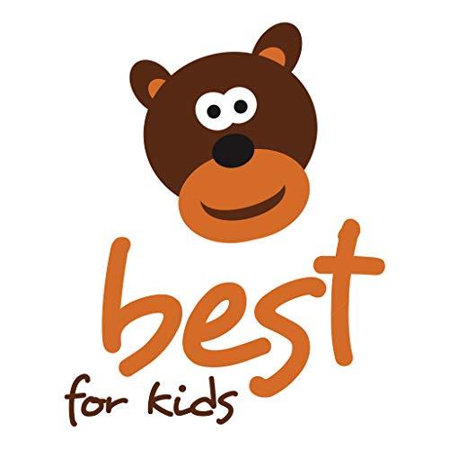 Best For Kids Kinderbett Kinderhaus mit Rausfallschutz Jugendbett Natur Haus Holz Bett mit oder ohne 10 cm Matratze in 3 Größen (90×200 cm ohne Matratze) - 9