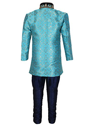 AJ-DEZINES-Boys-Cotton-Silk-Sherwani-Suit-Set