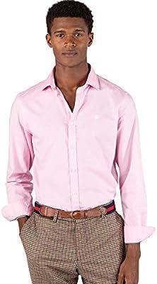 El Ganso Urban Oxford Camisa casual, Rosa (Rosa 0026), arge para Hombre