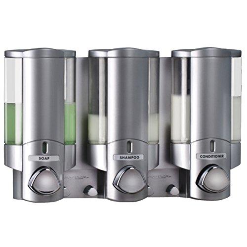 better-living-aviva-three-chamber-dispenser-satin-by-aviva