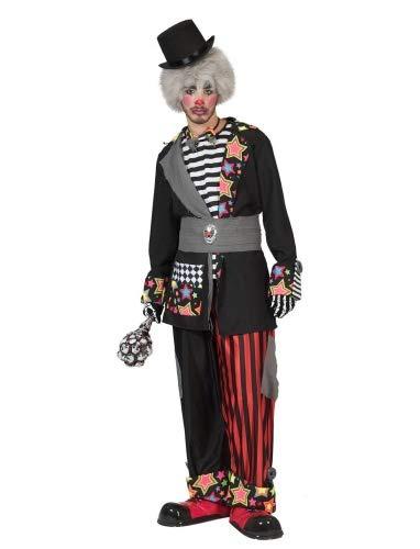 Carnevil Clown Herr Größe - Carnevil Kostüm