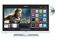 Bush LED24265DVDCNTDW 24 Inch Smart HD Ready LED TV/DVD Combo