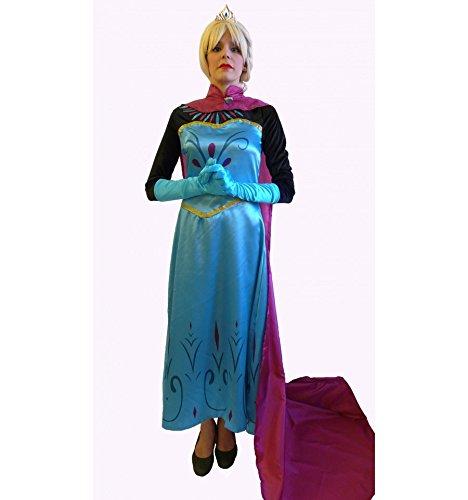 Elsa Coronación vestido inspirado Adulto - XL