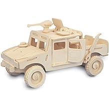 Jeep QUAY de artesanía en madera Kit de construcción FSC