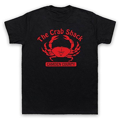 Inspiriert durch My Name is Earl Crab Shack Unofficial Herren T-Shirt, Schwarz, XL