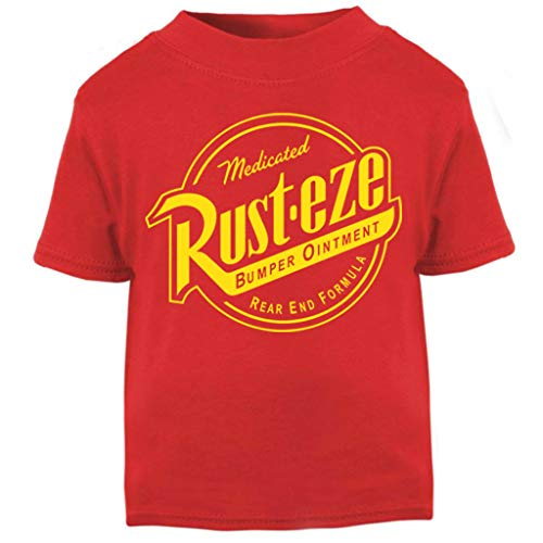 Cars Rust Eze Bumper Ointment Baby and Toddler Short Sleeve T-Shirt