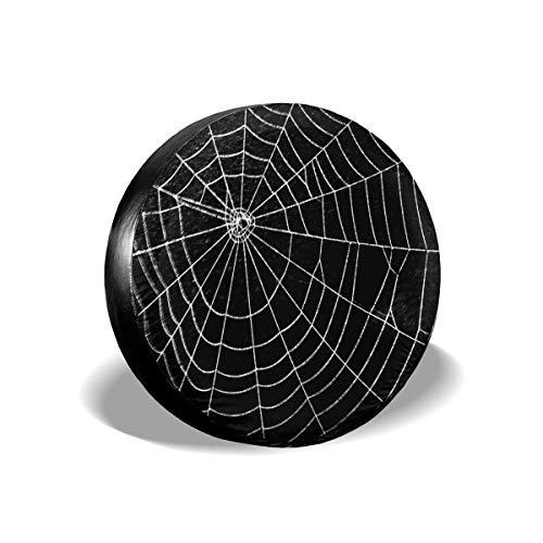 Belleeer Reserveradabdeckung, Spider Web Tire Cover (Spider Web-einsätzen)