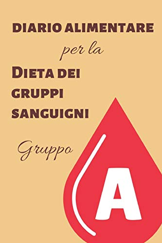 diario alimentare per la dieta dei gruppi sanguigni - gruppo a