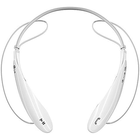 LG Tone Ultra - Auriculares in-ear Bluetooth (reducción de ruido), blanco