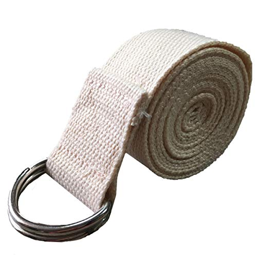 Gugutogo Yoga Gurt strapazierfähige Baumwolle Exercise Straps Standard-extralange Straps Verstellbarer D-Ring Schnalle…