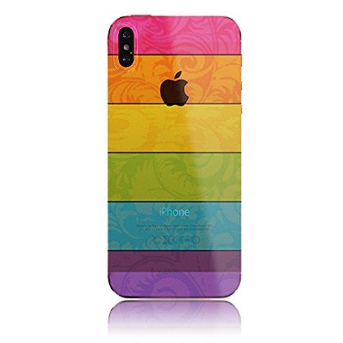 Sunroyal Creative 3D TPU Custodia per Apple iphone X 5.8 Trasparente Chiaro Slim Case Cover Morbido in Silicone Gel Cellulare Accessori di Protettiva Cassa Caso in Premio Poliuretano Gel Gomma Anti S Modello 11